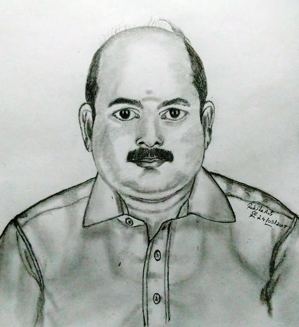 PENCIL DRAWING  -  SUBRAMANIAN