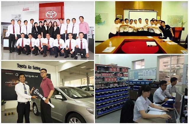 toyota an suong tan tam chuyen nghiep -  - Toyota An Sương thành công nhờ nỗ lực cung cấp dịch vụ tốt nhất cho Khách hàng