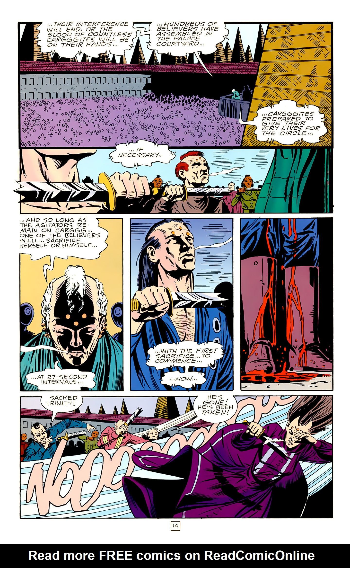 Legion of Super-Heroes (1989) 18 Page 14