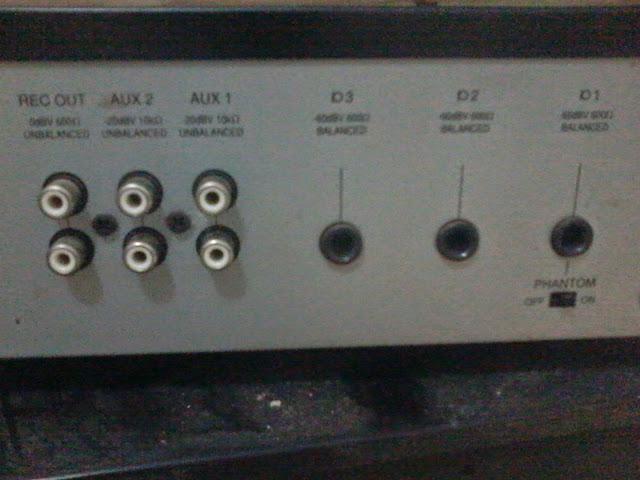 AUX Input position