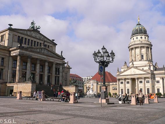 Gendarmenmarkt en Berlin. Berlin en 4 dias