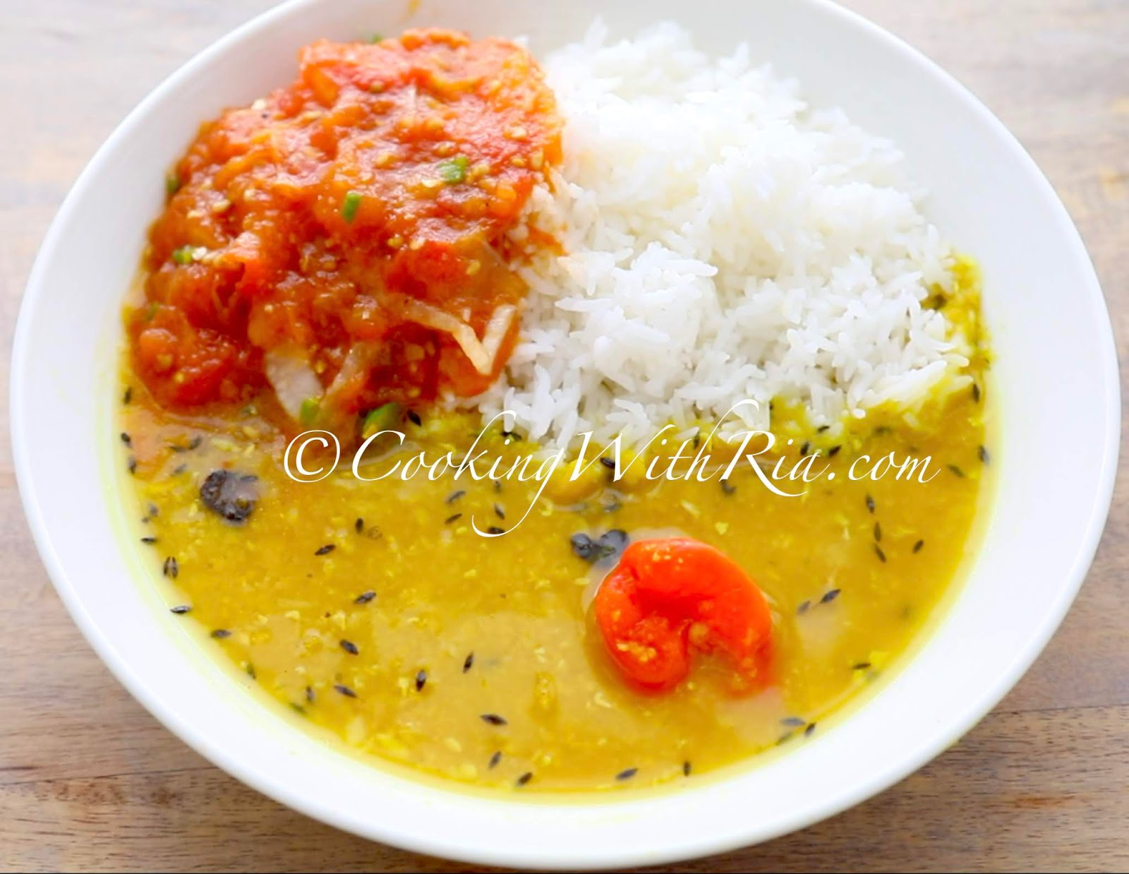 Trinidad Dhal Recipe....and a story about Grandma ...