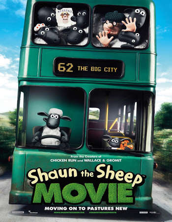 Poster Of Free Download Shaun the Sheep Movie 2015 300MB Full Movie Hindi Dubbed 720P Bluray HD HEVC Small Size Pc Movie Only At worldfree4u.com