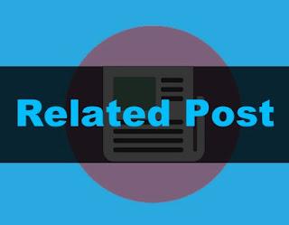 cara memasang artikel terkait di tengah atas bawah postingan blogger