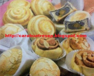 Foto Resep Roti-roti Manis Ala Taiwan Lembut dan Empuk Asli Enak Begitu Ekonomis