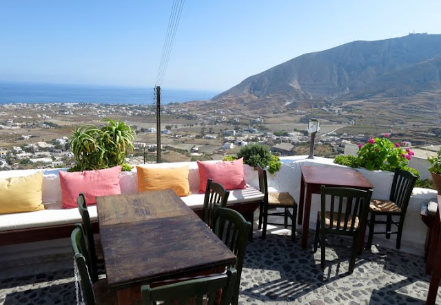 Restaurante Metaxy Mas, Santorini