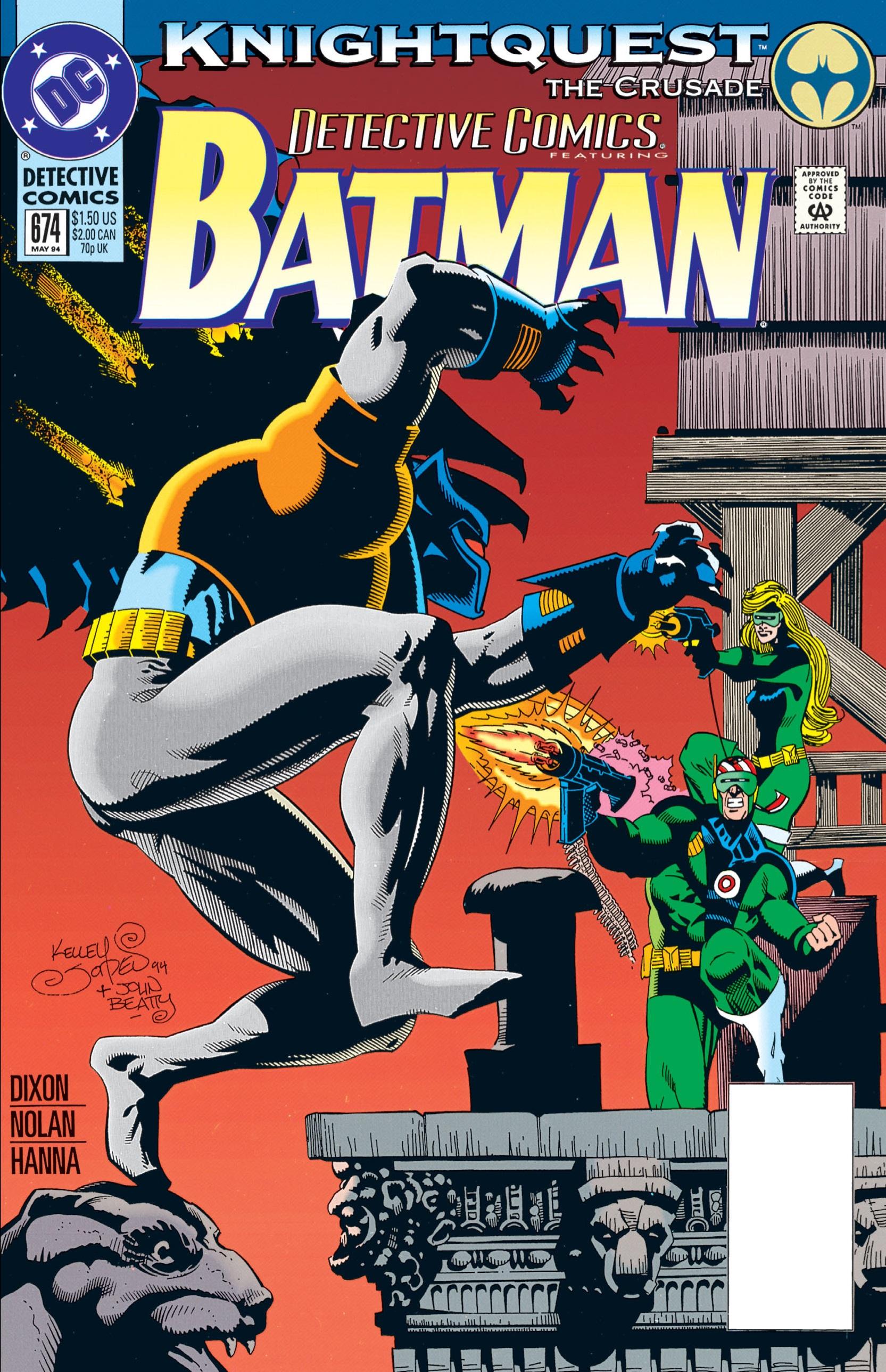 Detective Comics (1937) 674 Page 1