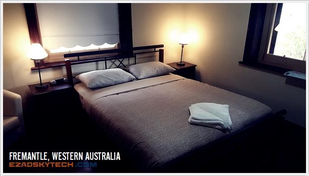 Bilik Utama Cottage Fremantle Prison YHA