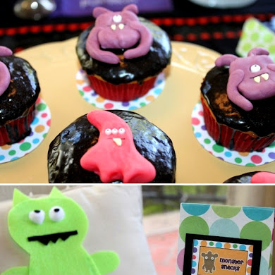 DIY Little Monster Birthday Party