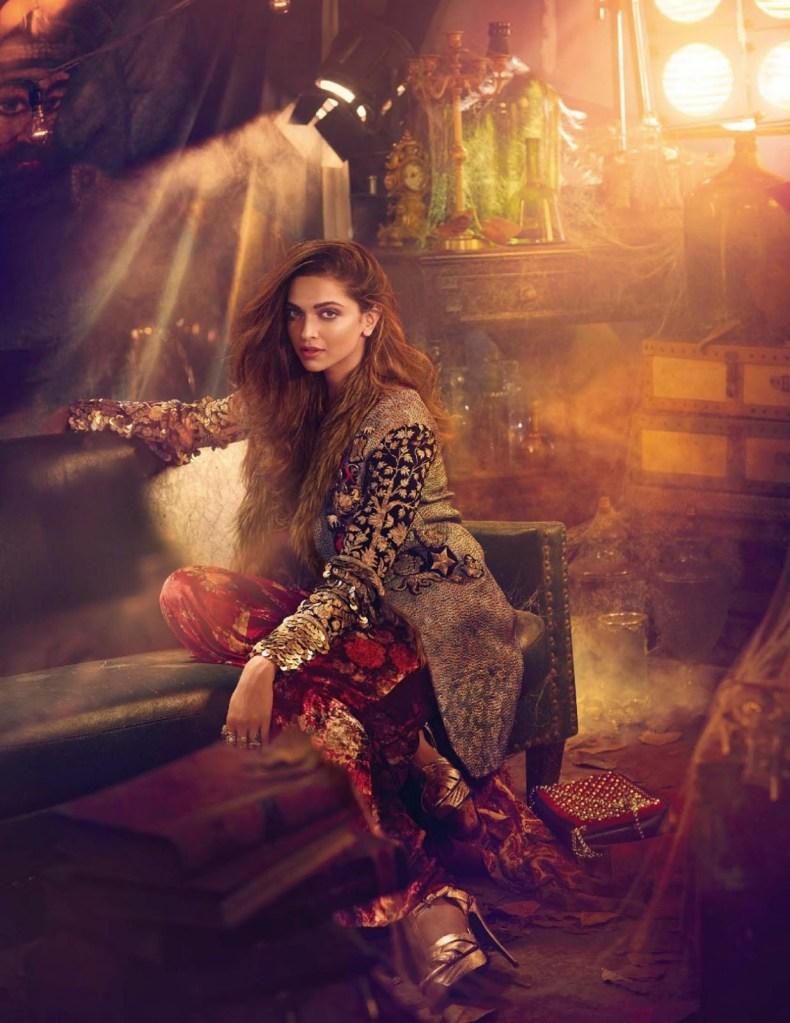 Deepika Padukone on Vogue India Magazine Cover November 2016 Issue 05