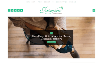 Jasmine Blogger Template