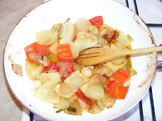 Reteta legume trase la tigaie in untura de rata,