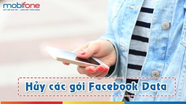 Hủy các gói 3G Facebook Mobifone