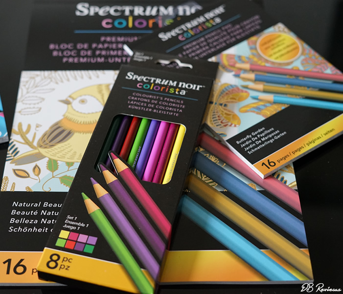 Spectrum Noir Colorista range of adult colouring products from Crafter's Companion