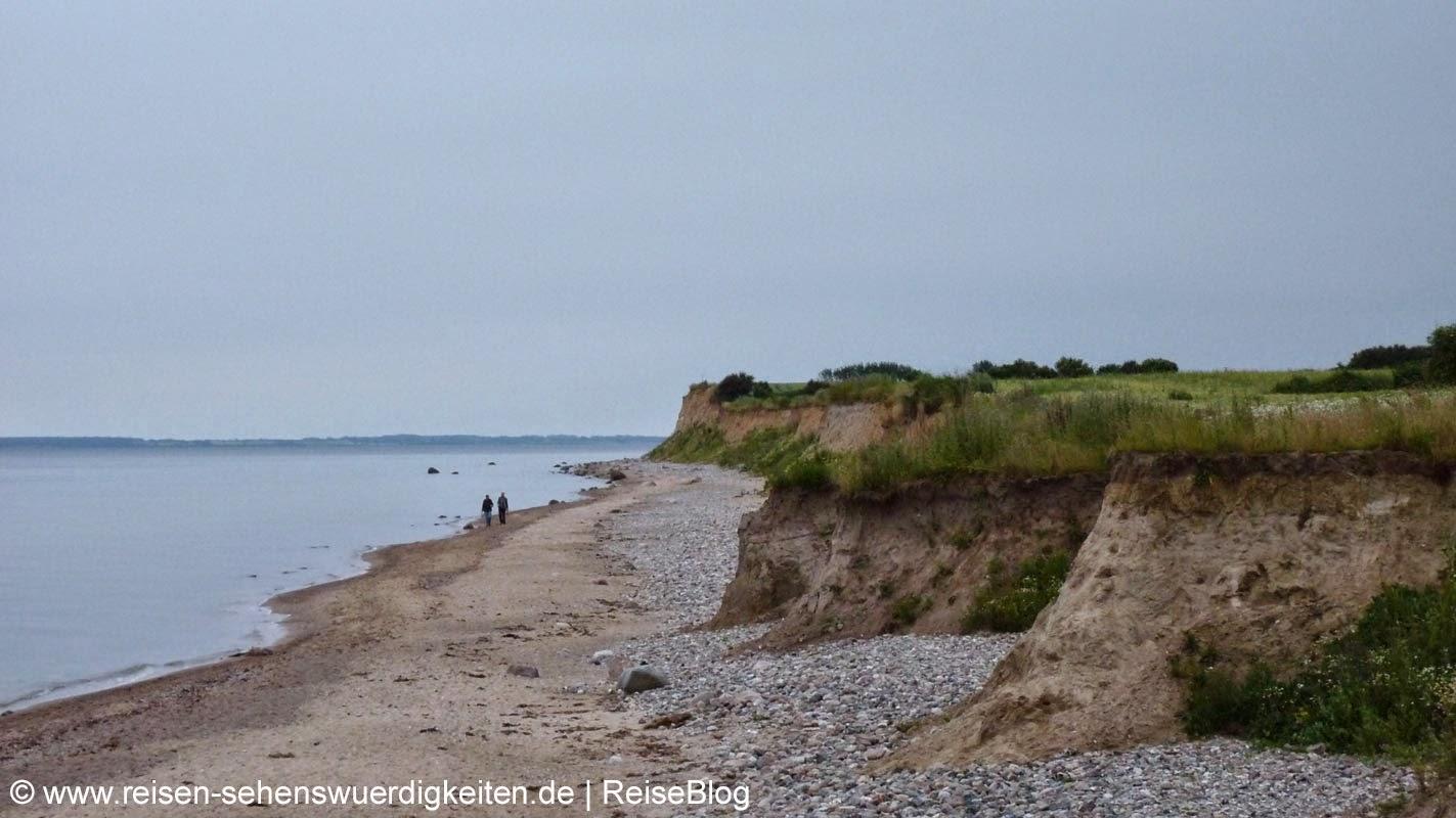 Steilküste Ostsee in Schönhagen