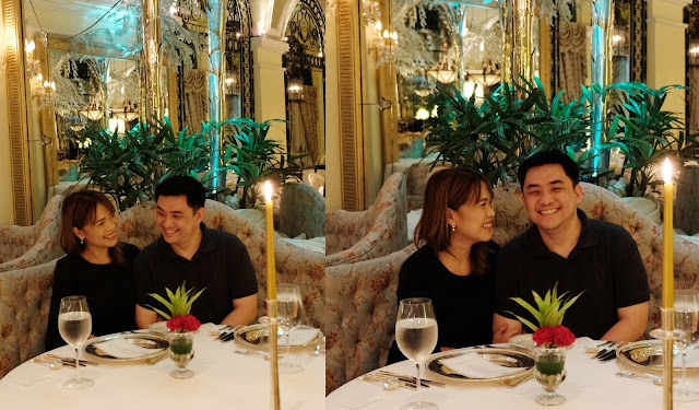 a photo of The Manila Hotel's Champagne Room_Askmewhats_husband and wife