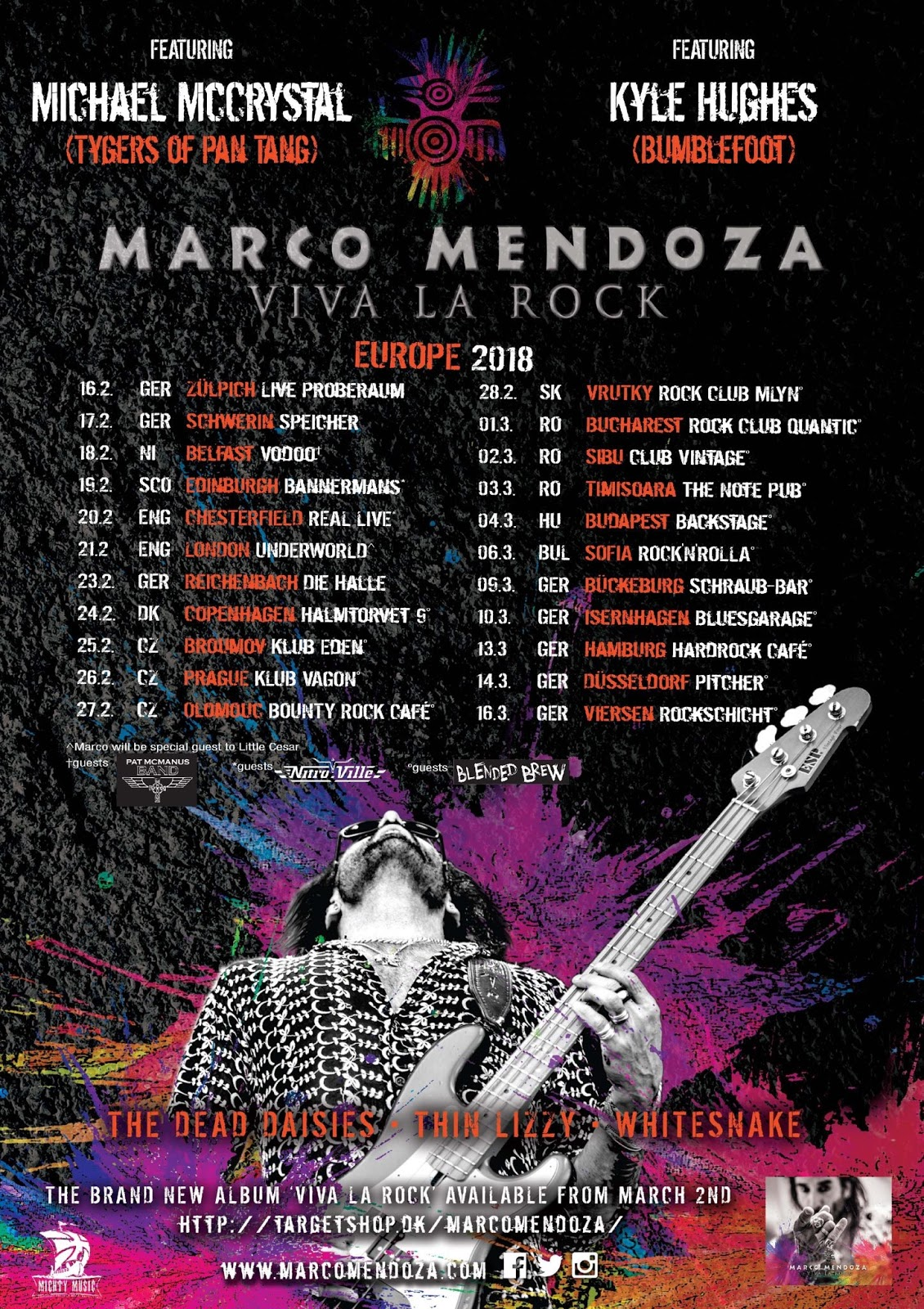 Denim & Blether: Marco Mendoza keeping rock alive with new album and ...