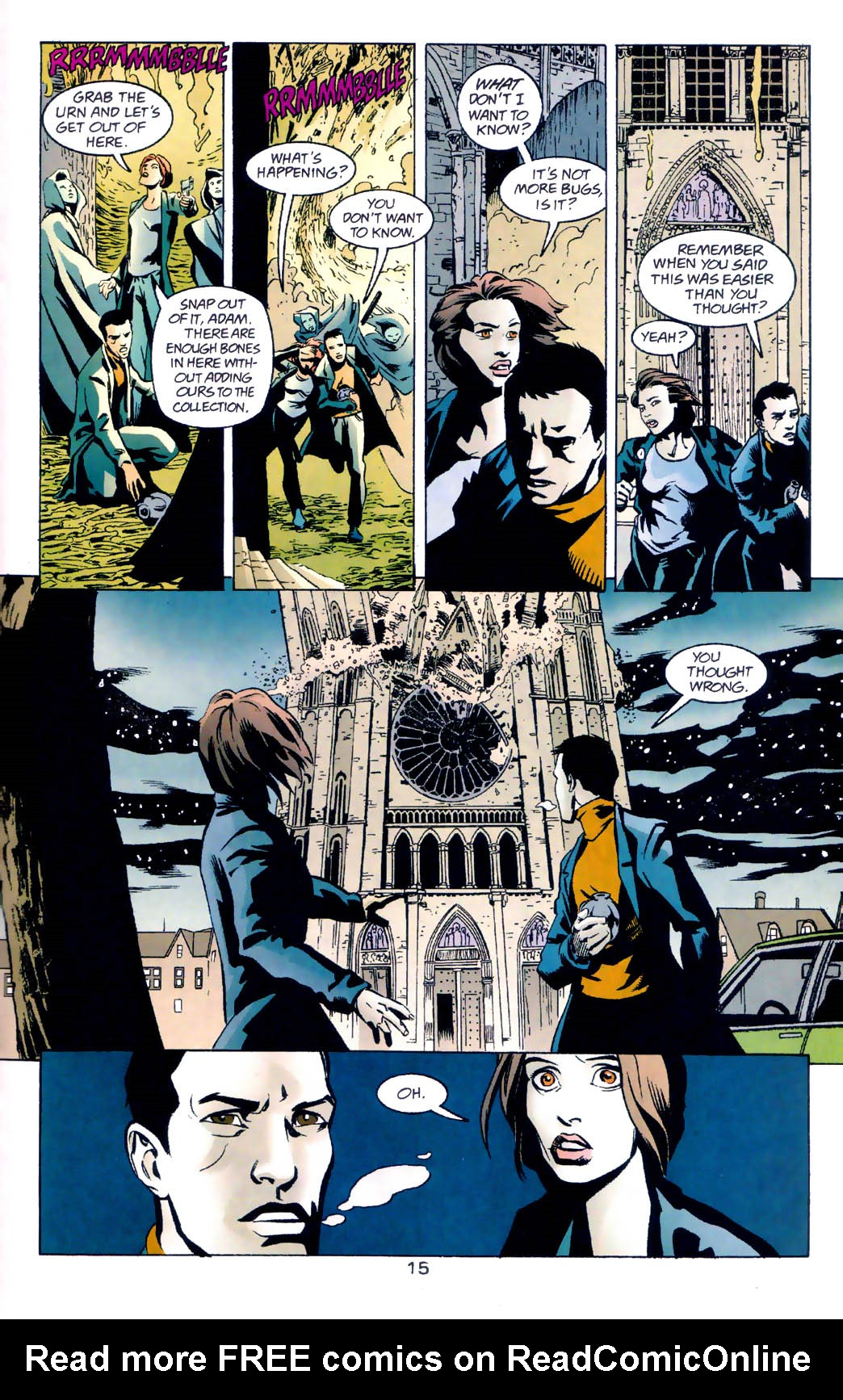 Read online Midnight, Mass comic -  Issue #5 - 16