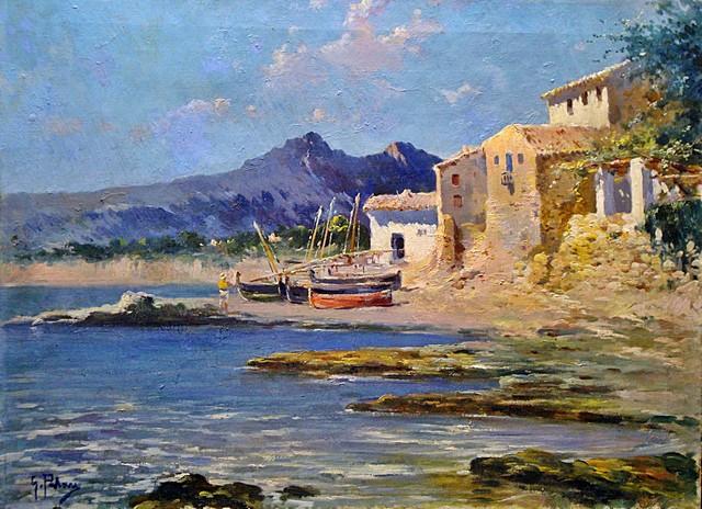 Genaro Palau Talens, Paisajistas españoles, Pintor español, Paisajes de Genaro Palau Talens, Pintores Valencianos
