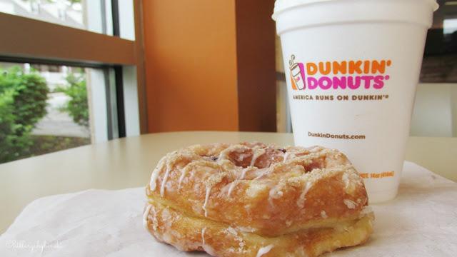 Dunkin' Donuts Blueberry Cobbler Croissant Donut