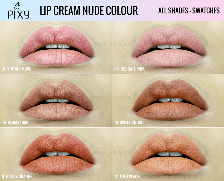Pixy Lip Cream Nude