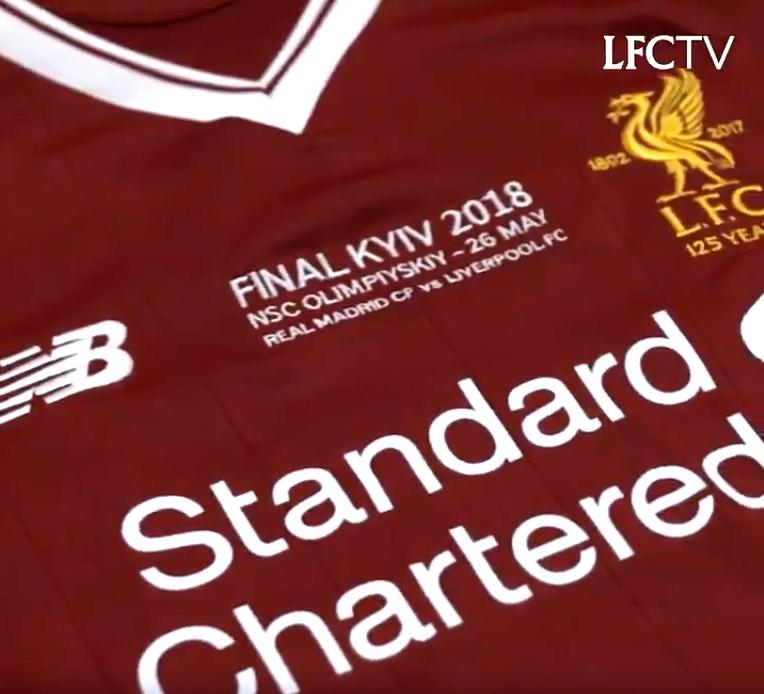 Liverpool divulga a camisa para a final da Liga dos Campeões - Show ... 30d06644bc5fa