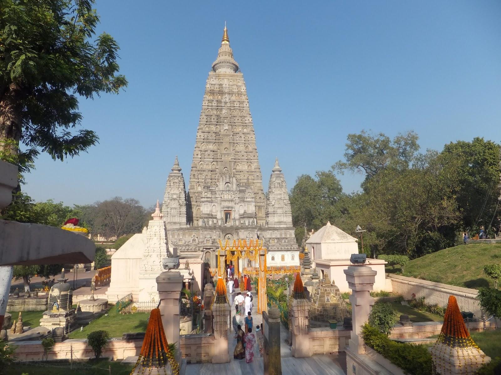 Махабоди темпл в Бодх Гае