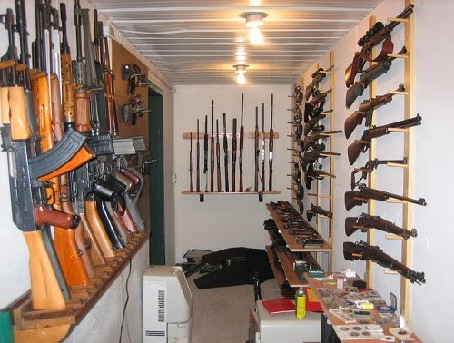 Cool Private Gun Collection Room