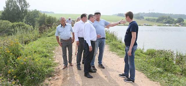 Плотину Торбеева озера отремонтируют до конца года Сергиев Посад