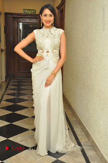 Actress Pragya Jaiswal Stills in Beautiful White Dress at turodu Audio Launch  0060.JPG
