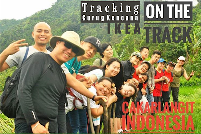 Tracking Curug Putri Kencana - Curug Love with Cakarlangit Indonesia