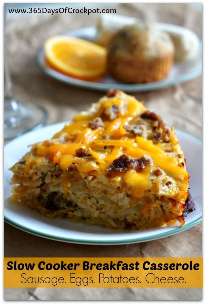The best slow cooker breakfast casseroles slow cooker or for Slow cooker breakfast recipes for two