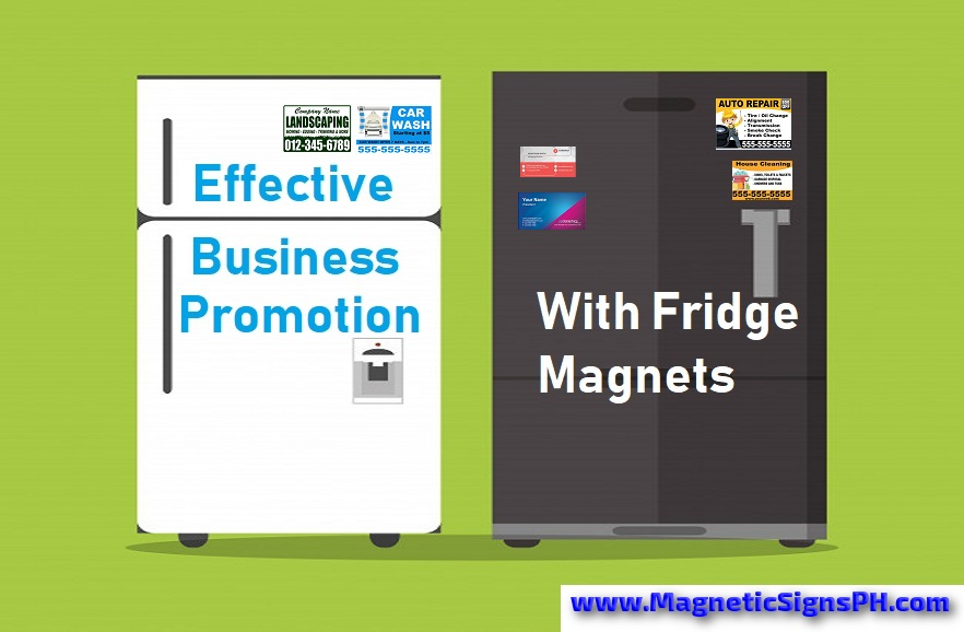 Effective Business Promotion With Custom Fridge Magnets