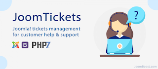 JoomTickets support tickets components for joomla