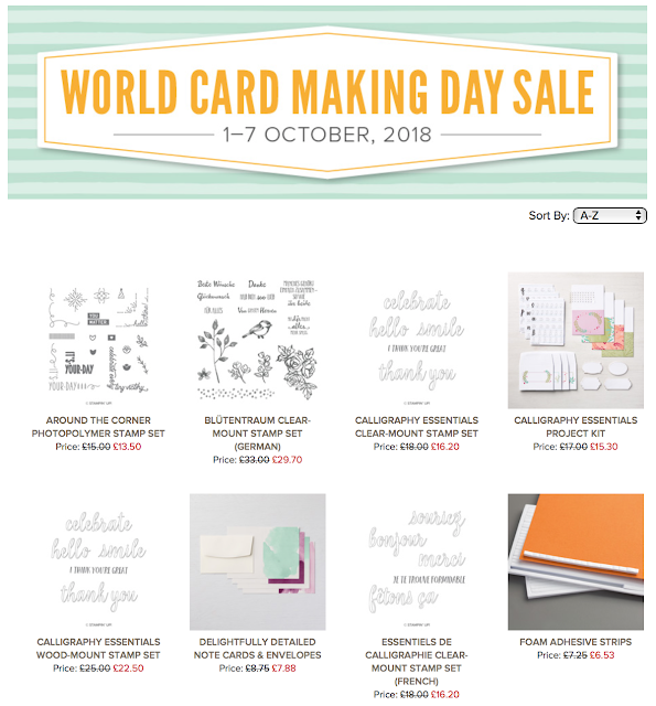 SAVE 10% WITH OUR WORLD CARD MAKING DAY PROMOTION