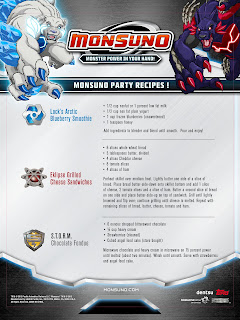 Monsuno Recipes for Party