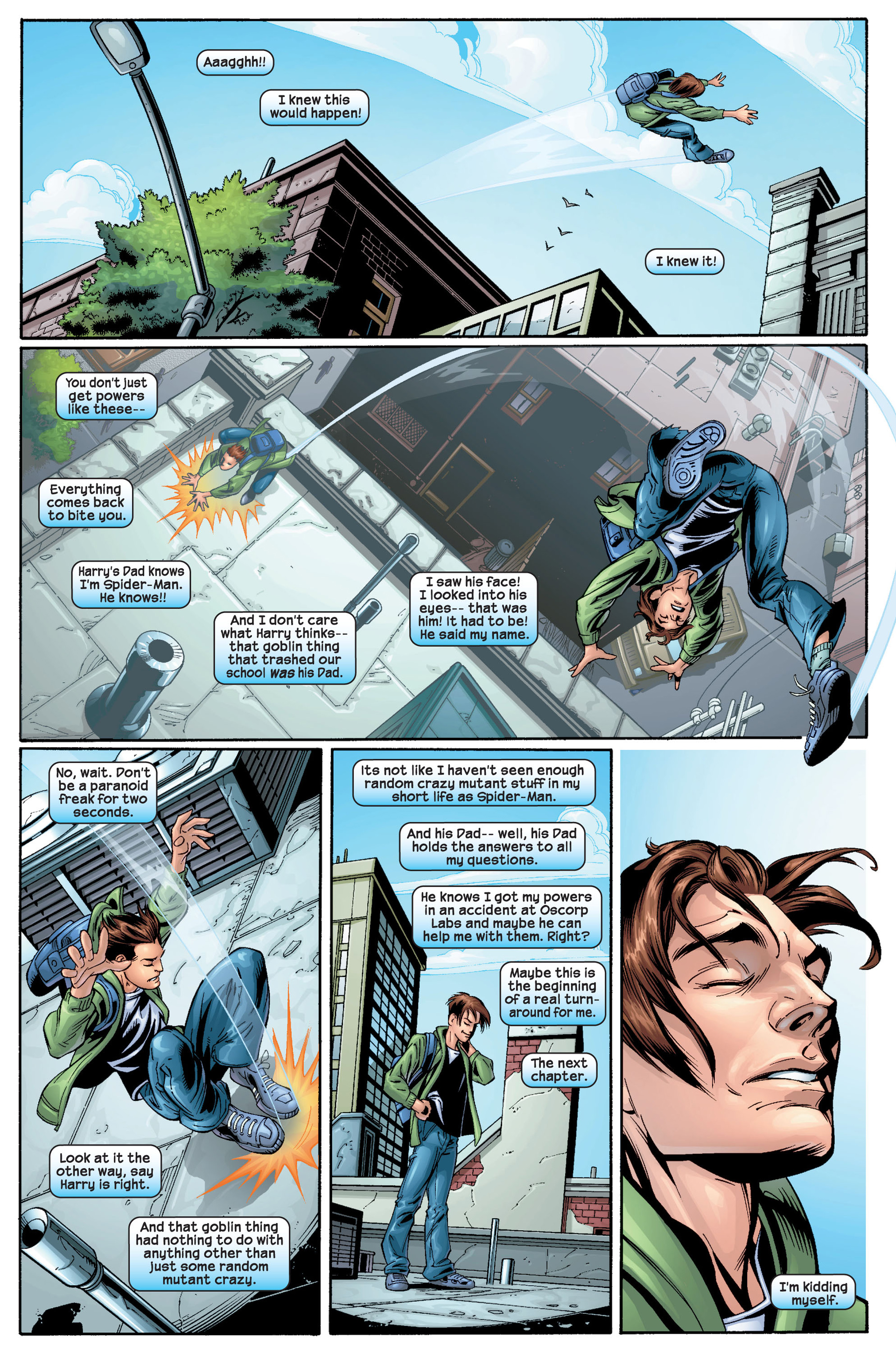 Read online Ultimate Spider-Man (2000) comic -  Issue #22 - 23
