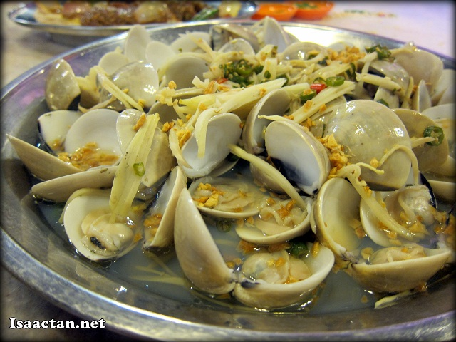 Supreme Stock Drunken Clams - RM20