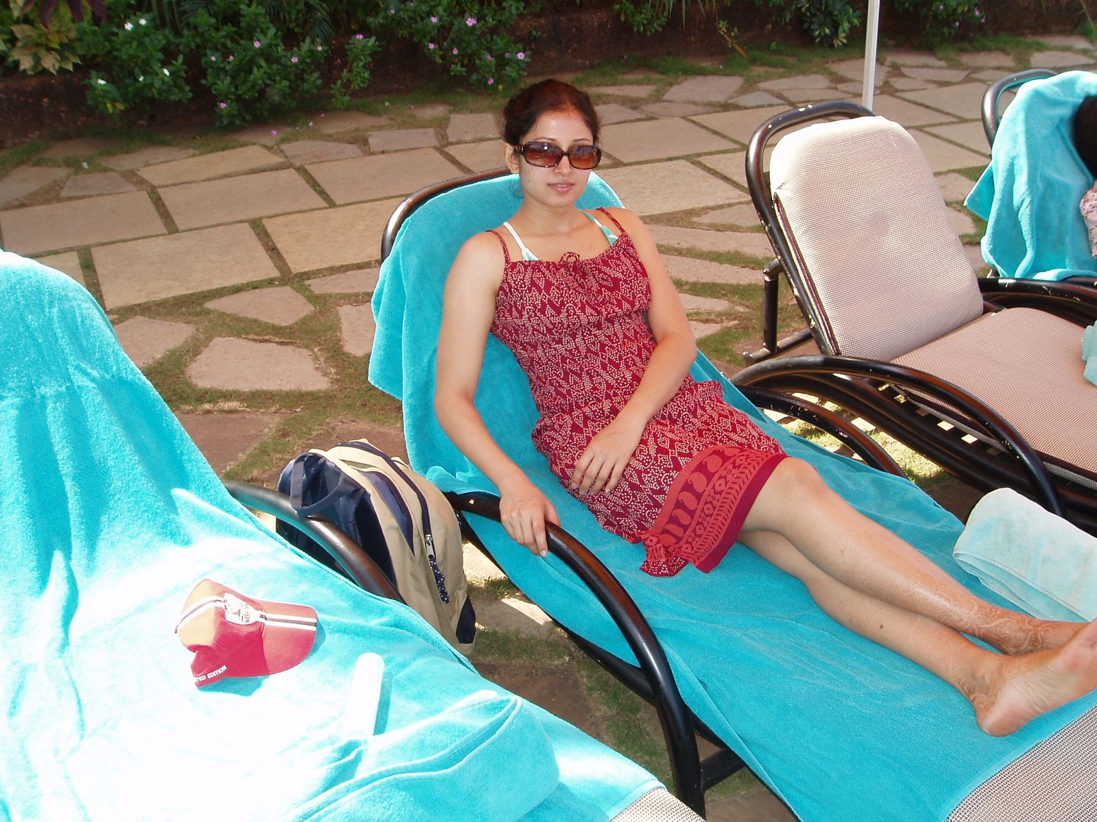 Hot Nri Girl Swetha In Picnic Pictures  Hot College Girls-2601