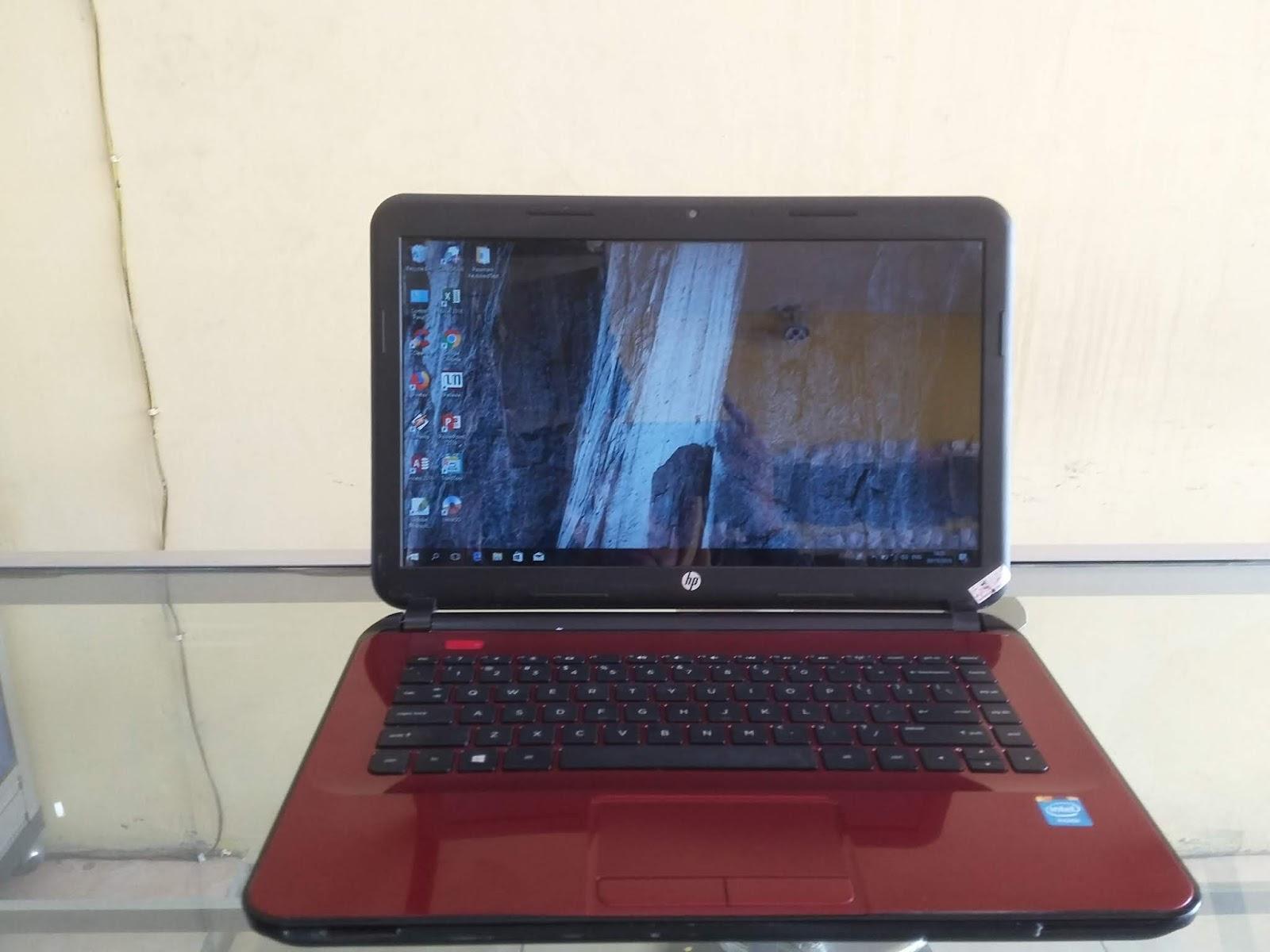 HP 14 Notebook Merah