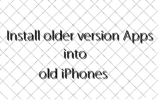install%2Bolder%2Bversion%2Bof%2Bapps%2Binto%2Biphone-min How to Install older version Apps into old iPhones Apps iPhone Jailbreak News Technology