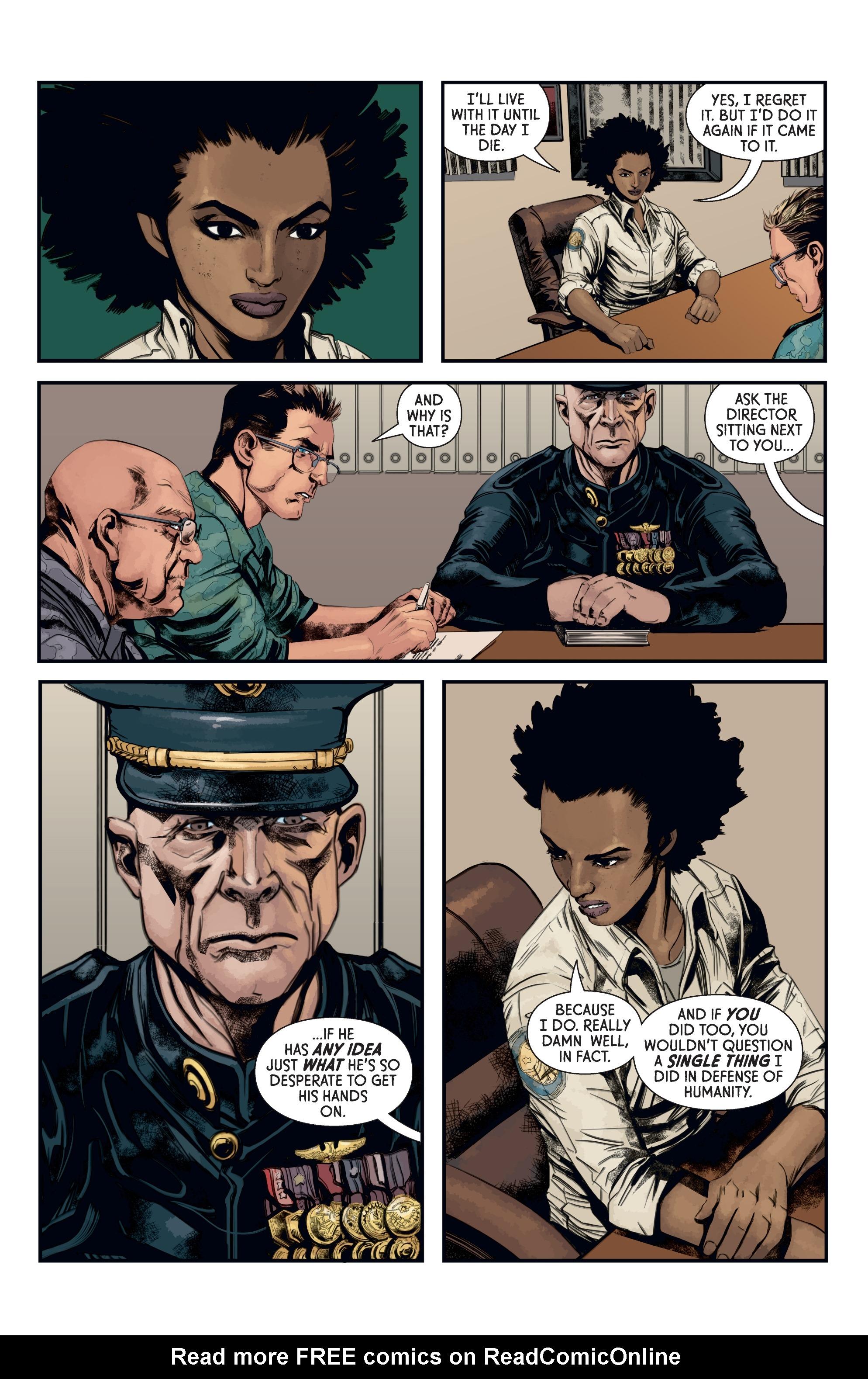 Read online Aliens: Defiance comic -  Issue #12 - 14