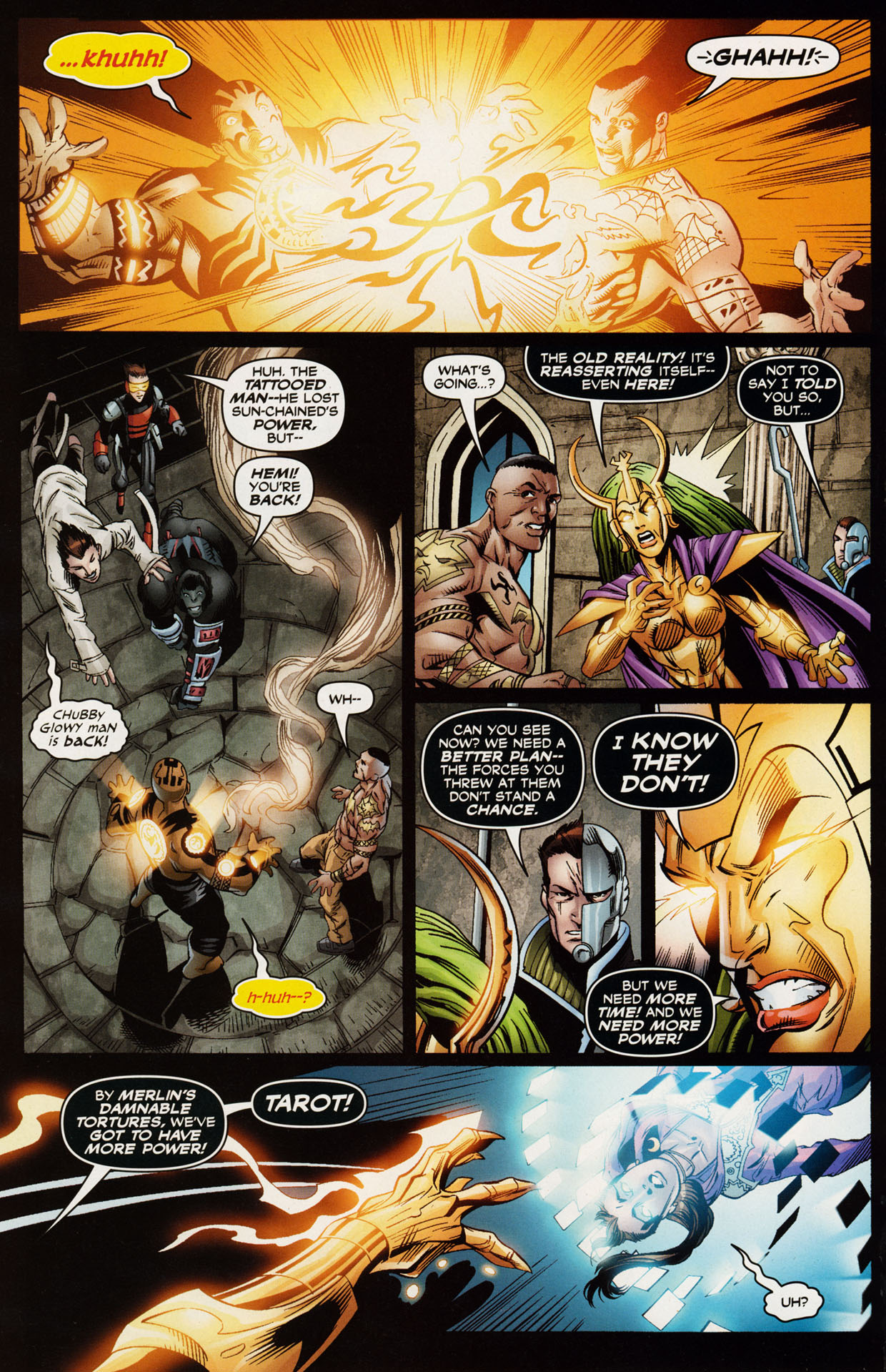 Read online Trinity (2008) comic -  Issue #43 - 14