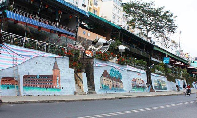 Hình ảnh phố cổ tại Đà Lạt