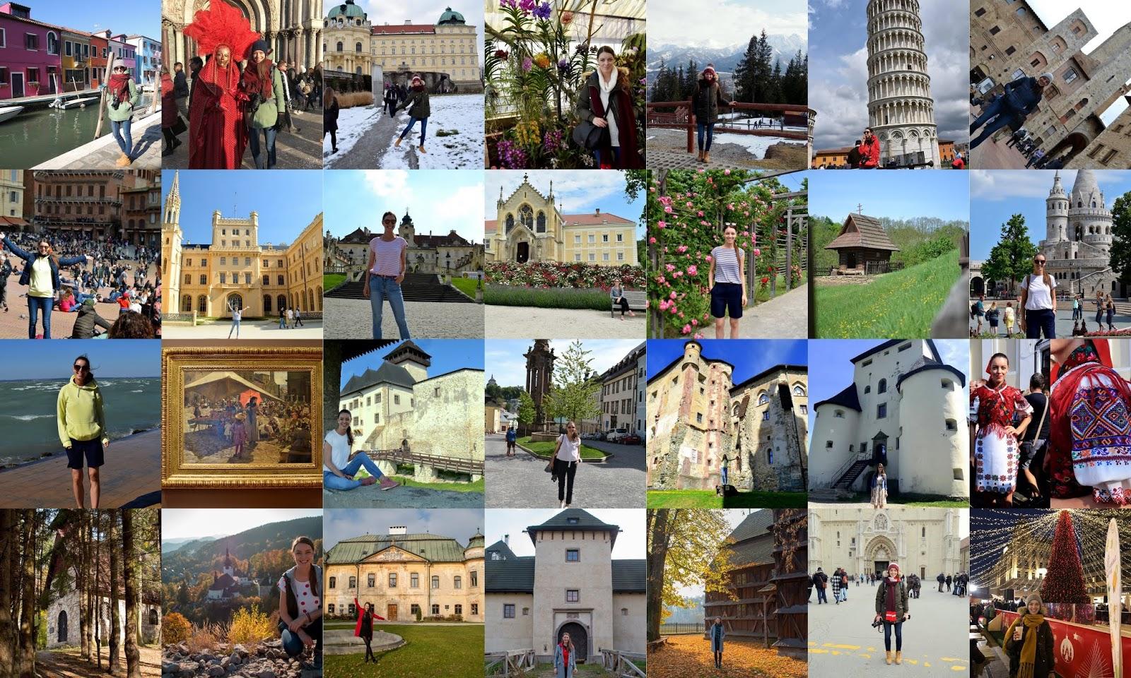travel the world 2018 // zážitky a zaujímavé miesta, ktoré som navštívila
