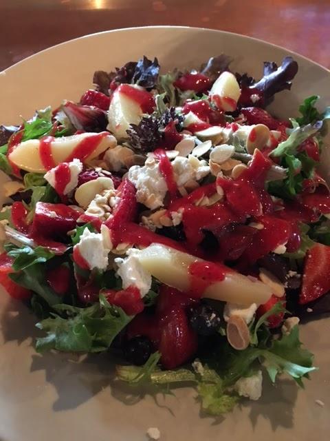 Georgia Blue Red white and blue salad
