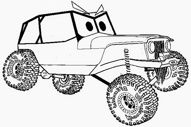 car coloring page //coloring.filminspector.com/2014/04/car-coloring-page.html