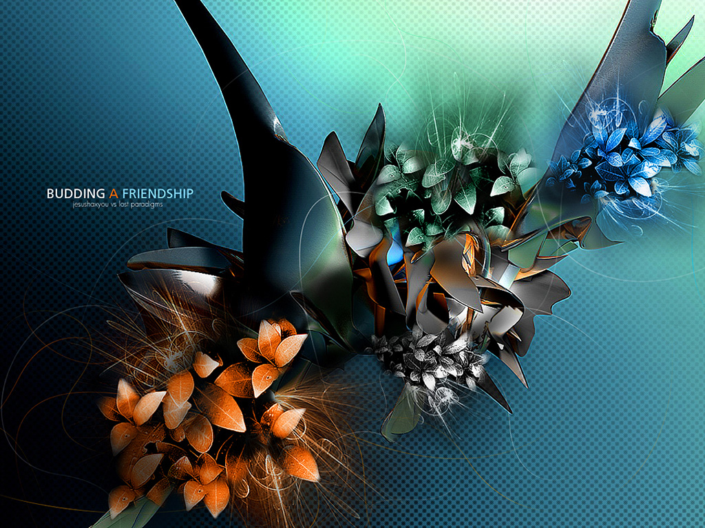 free 3d flower wallpapers - photo #45