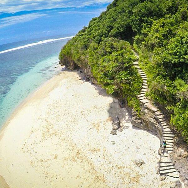 Abandoned Paradise Named Green Bowl Beach