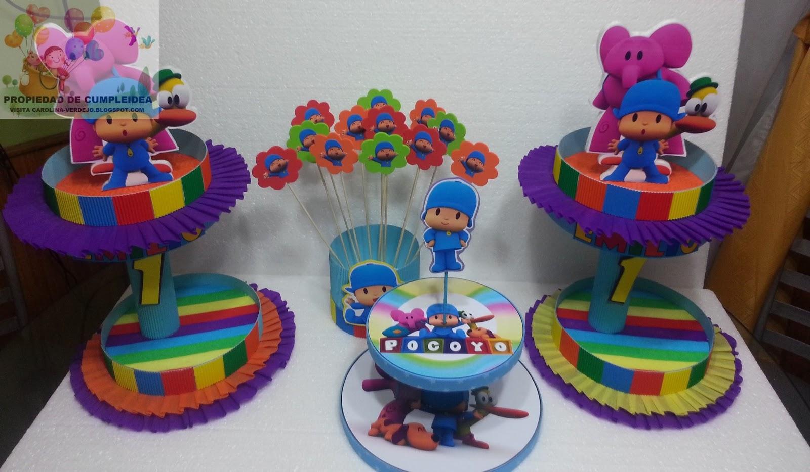 Decoraciones infantiles pocoyo for Decoraciones infantiles